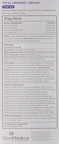 SkinMedica Total Defense Plus Repair SPF 34 Sunscreen Tinted, 2.3 oz. by SkinMedica (Image #1)