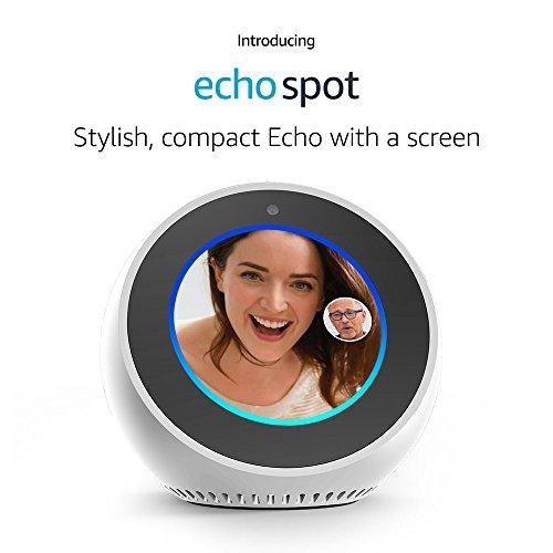 Amazon VN94DQ Echo Spot White