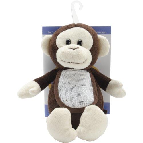DMC GN-324 Ready-to-Stitch Stuffed Animal Baby Gift, Monkey ()