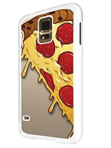 295 - Yum Yum Pizza Slice Cheese Design For Samsung Galaxy S5 Mini Fashion Trend CASE Back COVER Plastic&Thin Metal