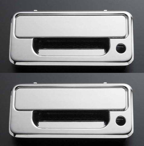 All Sales 920 Polished Billet Aluminum Door Handle and Bucket (Billet Door Bucket)