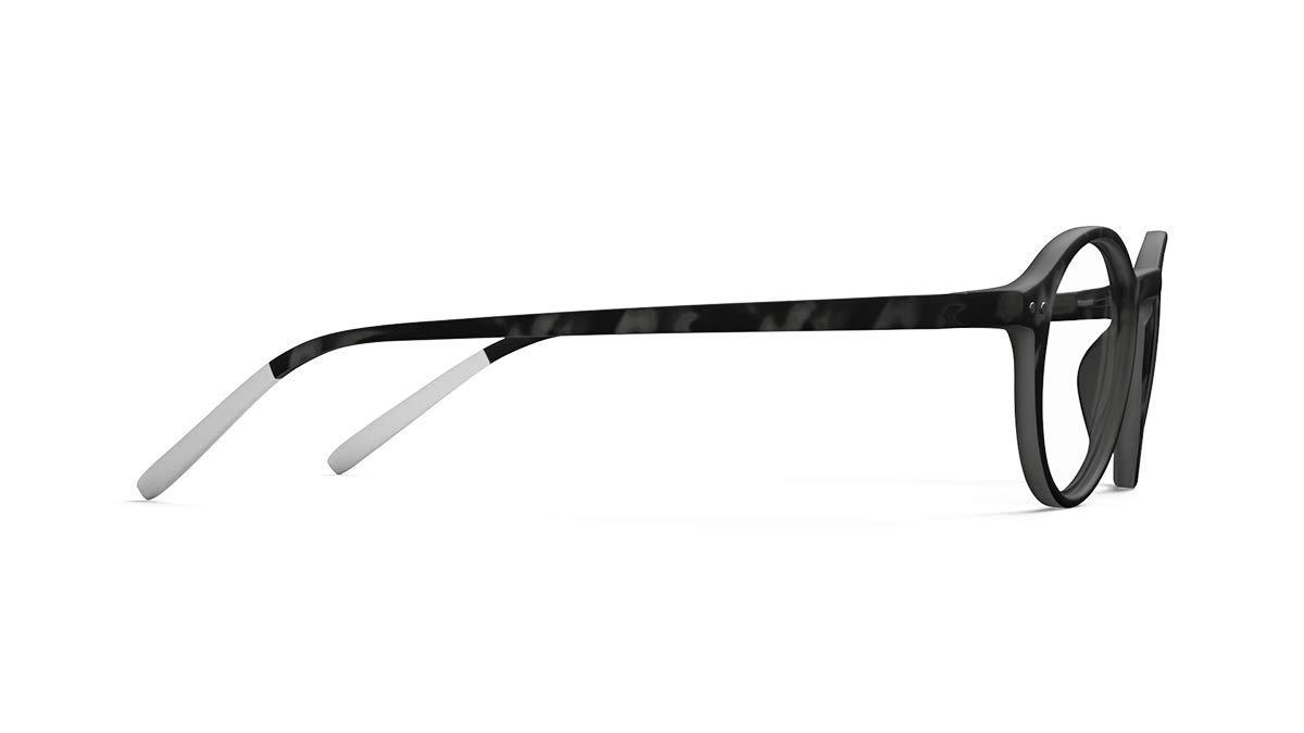 occhiali da lettura N/° Two colore: nero Pantone 3 scaglie