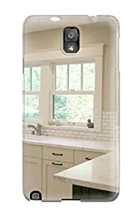 Snap-on Case Designed For Galaxy Note 3- Airy California Kitchen With Marble Countertops