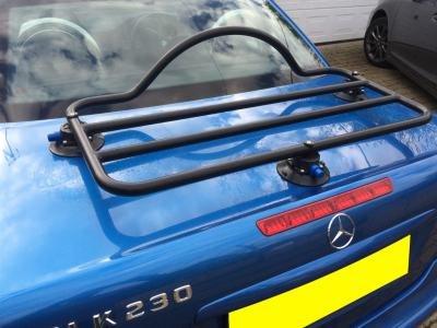 Mercedes SLK R170 Trunk Rack Unique Design, No Clamps No Straps No Brackets No Paint Damage