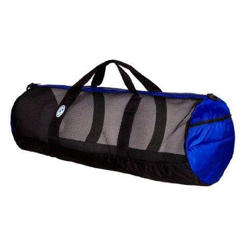 Stahlsac by Bare 36'' Mesh Duffel Bag (Black/Blue)