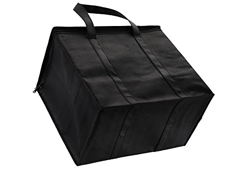 2 Pack Insulated Reusable Grocery Bag, Extra Large Size, Stands Upright, Collapsible, Sturdy Zipper by NZ Home (Image #4)