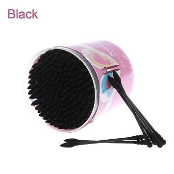 Amazon.com : 200Pcs/Bag Disposable Makeup Cotton Swabs Eyelash Extension Mini Individual Applicators Home Mascara Brush Cotton Soft Swab : Beauty