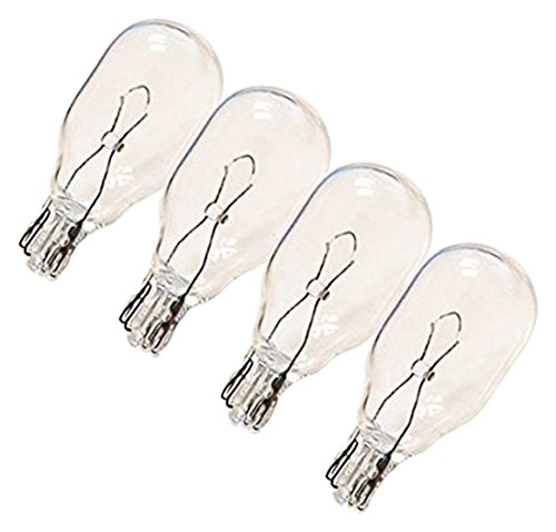 Replacement Bulb Set - eTopLighting T5BULB6V5W-12P 6V 5.4W Low Voltage T5 Wedge Base Replacement Bulb (12 Pack)