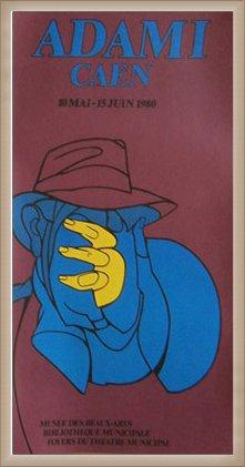 ポスター ヴァレリオアダミ CAEN 額装品 ウッドベーシックフレーム(オフホワイト) B0721K5KLN オフホワイト オフホワイト