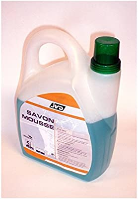 Jabón, 5 litros para biodegradable-Dispensador de jabón en mousse ...