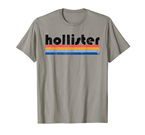 Vintage 80s Style Hollister  CA T-Shirt (White Hollister Sweatshirt)