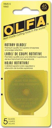 Rotary Blade Refill-45mm 5/Pkg 1 pcs sku# 643884MA by OLFA