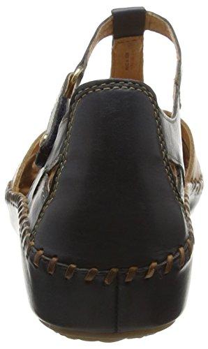 Sandals 0732c2 P Vallarta Women's Blue Blue Pikolinos 655 Heels v16 x0ICqfwB