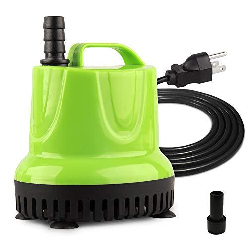 - FREESEA 160-1100 GPH Submersible Water Pump for Pond, Aquarium, Hydroponics, Fish Tank, Fountain