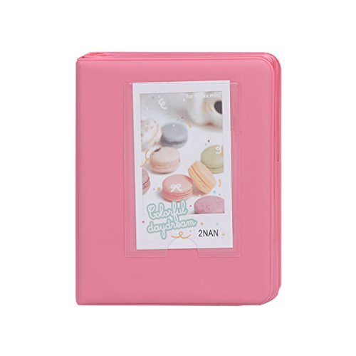 Buybuying Photo Album Book Film Cases For Fujifilm Fuji Polaroid Instax Mini8 7s 25 50s 90 5 Colors Optional (Pink)