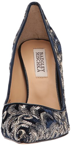 Badgley Mischka Womens Marilou Pump Navy