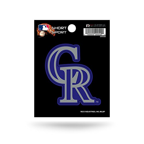 MLB Colorado Rockies Short Sport Decal
