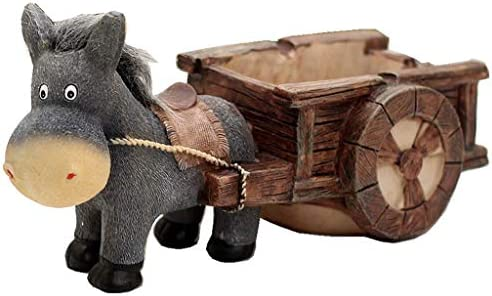 灰皿 , ロバ型の樹脂製灰皿、父のボーイフレンドから灰皿ギフトを送る創造的な人格の傾向 (色 : A)