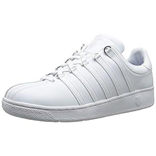 K-Swiss Men's Classic VN Sneaker, White/White, 10.5