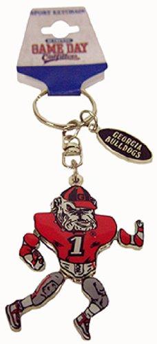 NCAA Georgia Bulldogs Metal Movable Player Keychain (Georgia Bulldogs Keychain compare prices)