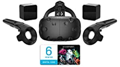 Product Description  VIVE gives you an unparalleled, true-to-life virtual reality experience. Using a headset and wireless controllers, you can explore and interact with VR experiences, apps and games that blur the line between imagination an...