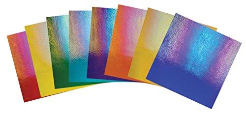 Bullseye Thin Iridescent Jewel Tones Glass Pack - 90 Coe by Delphi Glass (Image #1)