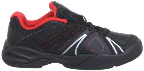 Wilson Unisex-Kinder J Open Junior Tennisschuhe Schwarz (Black)