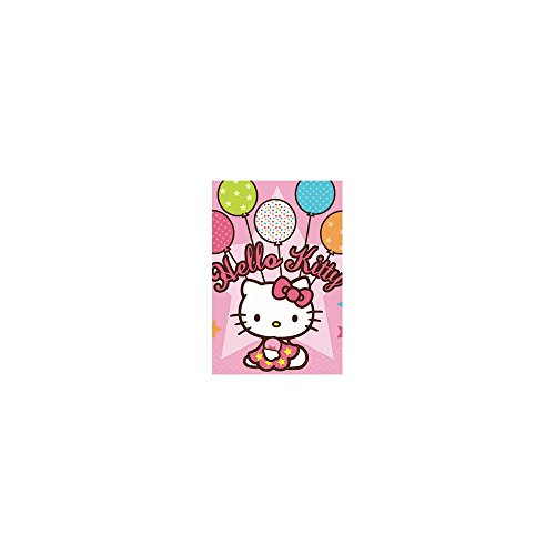 Hello Kitty 'Balloon Dream' Plastic Table Cover (1ct)