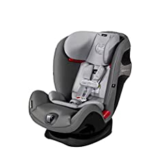 Size:Standard | Color:Manhattan Grey The CYBEX Eternis S with Sensor Safe All-In-One Car Seat offers 10 years of use in one easy-to-use package - making it the only car seat your child will need, from birth and beyond. The Sensor Safe techn...