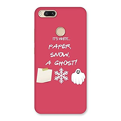 new style ecd31 ec491 Snow Paper Back Case Cover for Xiaomi MI A1: Amazon.in: Electronics