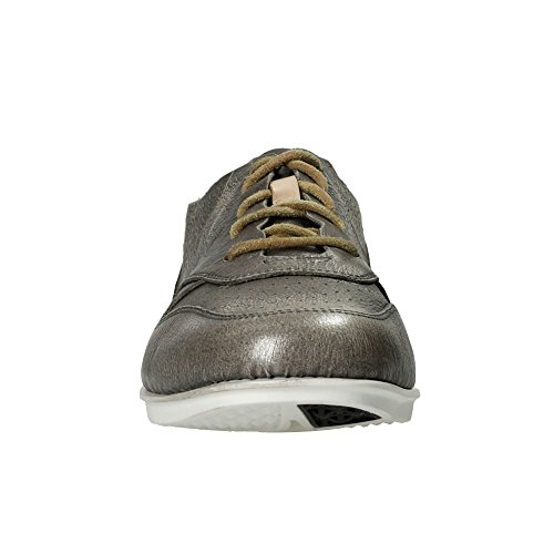 Tri Low Silver Clarks Top Women's 9 Sneakers UK Black Actor O4w5C7x
