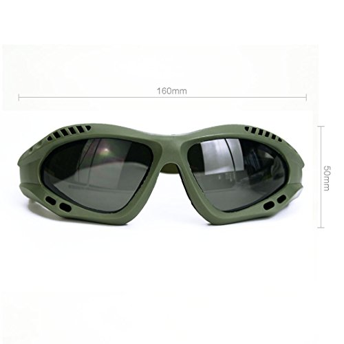 0eccf96392 Binboll UV Protective Outdoor Glasses Motorcycle Goggles Dust-proof  Protective Combat Goggles Military Sunglasses Outdoor