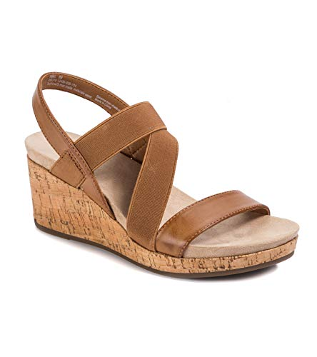 Wear.Ever. Amal Women's Sandals & Flip Flops Tan Size 10 M (WR12547)