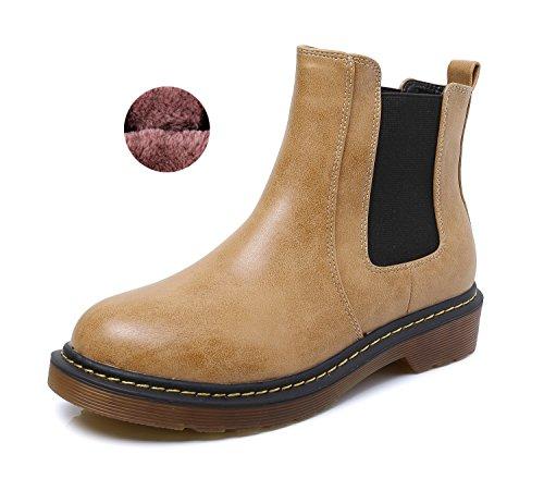 Minotta Marron Fur Femme 5 Brown 36 EU Bottes Lined pour rIwtxaIqA