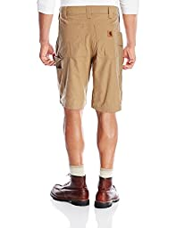 Carhartt Men\'s Canvas Work Short B147,Dark Khaki,38