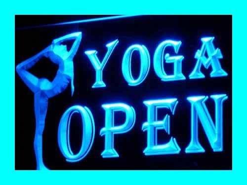 - OPEN YOGA CENTER GYM Sport LED Sign Neon Light Sign Display i242-b(c)