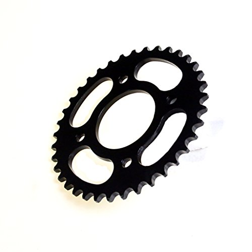 420 Chain 37T 58mm Rear Chain Sprocket for Chinese 110cc 125cc 150cc Pit Dirt ()