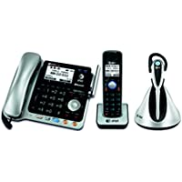 AT&T TL86109 2-line corded/cordless phone system with cordless headset