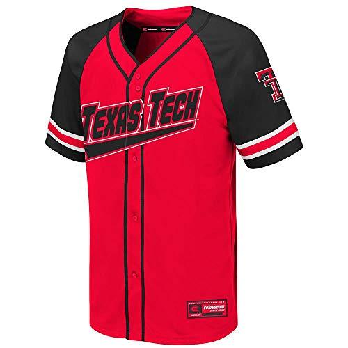Colosseum Youth Texas Tech Red Raiders Wallis Baseball Jersey - L ()