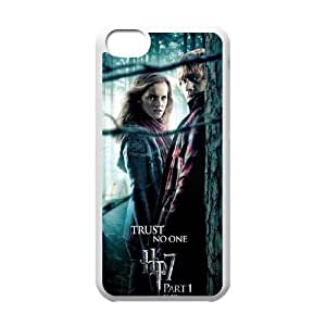 Deathly Hallows iPhone 5c Cell Phone Case White 6KARIN-123135