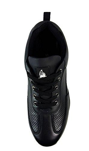 da stivali stivali sicurezza per alla Similpelle UK12 46 escursioni Nero da lavoro di con EUR in uomo acciaio punta Scarpe caviglia Px6w5EqI4n