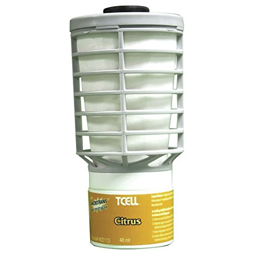 Rubbermaid TCell Citrus Fragrance Refill for TCell Odor Control System - 2 5/8