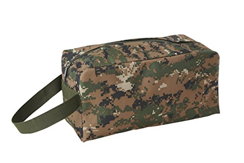 (Bulldog US Marine Corps Camouflage Toiletry Bag, Travel Organizer Camo Dopp Kit)