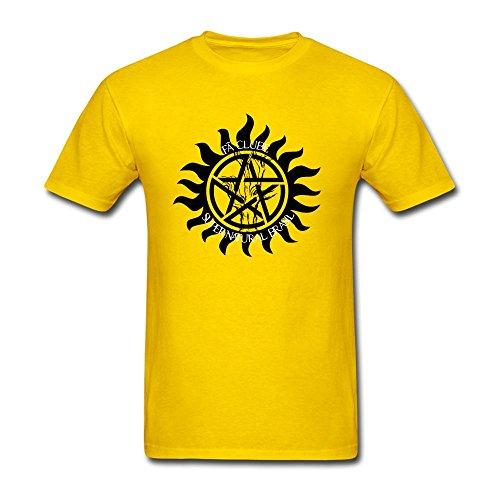Men's Supernatural Winchester Weapon Short Sleeve T-Shirt