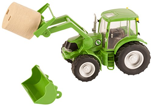 Hay Trailer - Big Country Toys Tractor & Implements - 1:20 Scale - Farm Toys - Green Toy Tractor