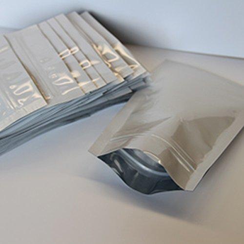 Maylar Zip Lock Bags 4 Mil PET/PE Plastic 1 OZ Wax Dabs Oil Marijuana Food Storage Bags Lot Of 100 New by Bentley's Display