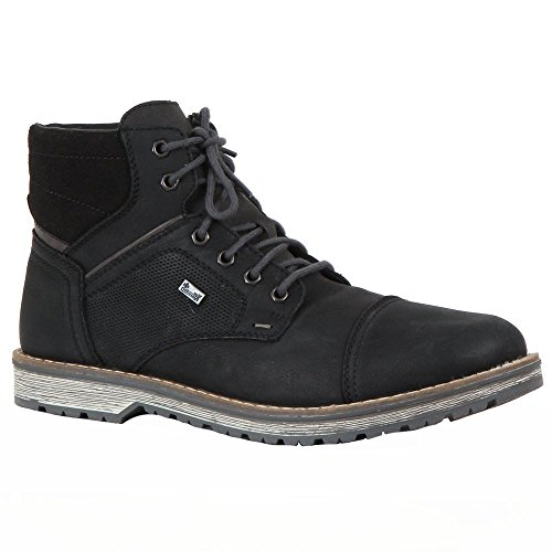 Boot Boot Rieker Men Durban Black Black TRpzw6xEq