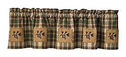 Scotch Pine Pinecone Curtain Valance 60\