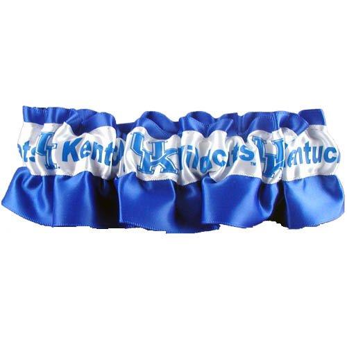 Kentucky Wildcats Satin Garter Blue
