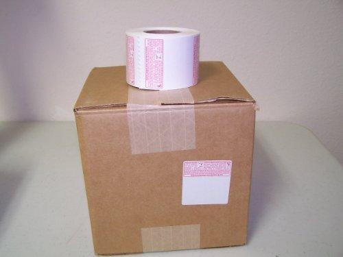Tor Rey Original Standard Label Safe Handling for LSQ-40L Scale,12 roll/ Case,56mm W X 60mm H by TORREY